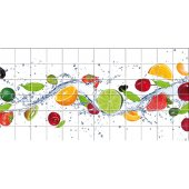 Naklejka na Płytki Ceramiczne - Owoce