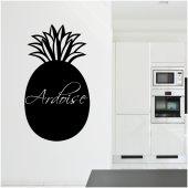Naklejka tablica - Ananas