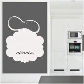 Naklejka Tablica Biała Velleda - Do kuchni