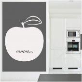 Naklejka Tablica Biała Velleda - Jabłko