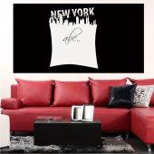 Naklejka Tablica Biała Velleda - New York