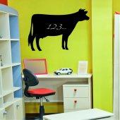 Naklejka tablica - Krowa