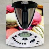 Naklejka Thermomix TM 31 - Ciastka Macarons