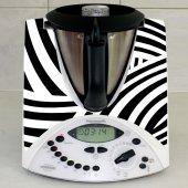 Naklejka Thermomix TM 31 - Zebra