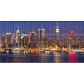 New York - Tiles Wall Stickers