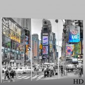 New York - Triptych Forex Print