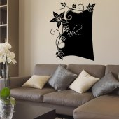 Orchid - Chalkboard / Blackboard Wall Stickers
