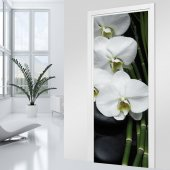 Orchid Door Stickers