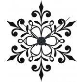Ornament Clock Wall Stickers