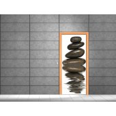 Pebbles Door Stickers