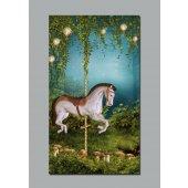 Plakat samoprzylepny - Koń
