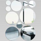 Plexiglas Oglinda Cercuri Mini Maxi