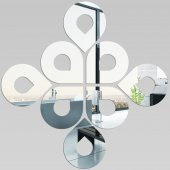 Plexiglas Oglinda Design Picaturi