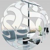 Plexiglas Oglinda Design Rotund