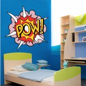 Pow! Wall Stickers