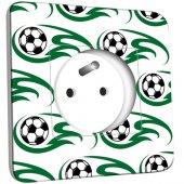 Prise décorée  Ballons de foot