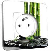 Prise décorée Bambou 1