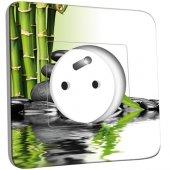Prise décorée Bambou 2