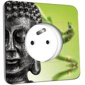 Prise décorée Bouddha Zen 2