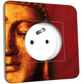 Prise décorée  Bouddha Zoom Or 5