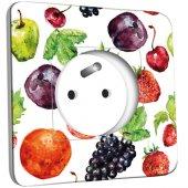 Prise décorée Cuisine Life style Fruit&Lègumes Abstrait