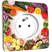 Prise décorée  Cuisine Life style Fruits&Lègumes 2