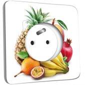 Prise décorée Cuisine Life style Fruits2