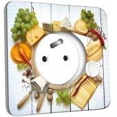 Prise décorée Cuisine Life Style Plateau des Fromages