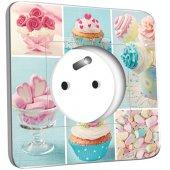 Prise décorée Cupcake 2