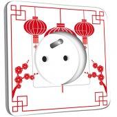 Prise décorée  design chinois