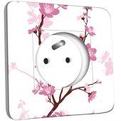 Prise décorée Fleurs de Cerisier 1