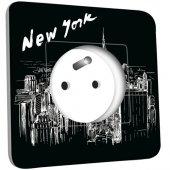 Prise décorée New York Black&White 1