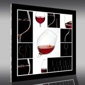 Quadro Acrílico vinho