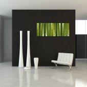 Quadro PVC Forex bambu