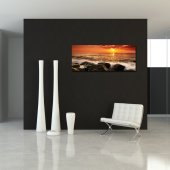 Quadro PVC Forex praia