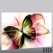 Quadro Triptico PVC borboleta
