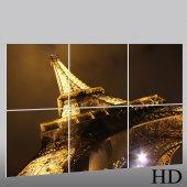 Quadro Triptico PVC Paris