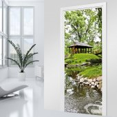 Relaxation Door Stickers