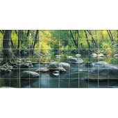River - Tiles Wall Stickers