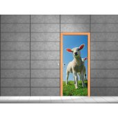 Sheep Door Stickers