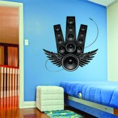 Speaker Wall Stickers
