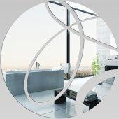 Specchio acrilico plexiglass - cerchi astratto