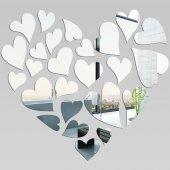 Specchio acrilico plexiglass - cuore