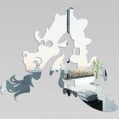 Specchio acrilico plexiglass - drago