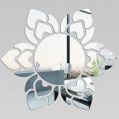 Specchio acrilico plexiglass - sole fiore