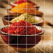 Spices - Tiles Wall Stickers
