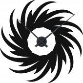 Spiral Clock Wall Stickers