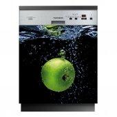 Spülmaschine Aufkleber Apfel