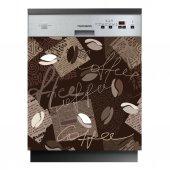 Spülmaschine Aufkleber Kaffee