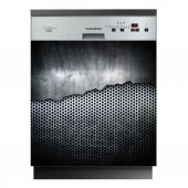Spülmaschine Aufkleber Metall